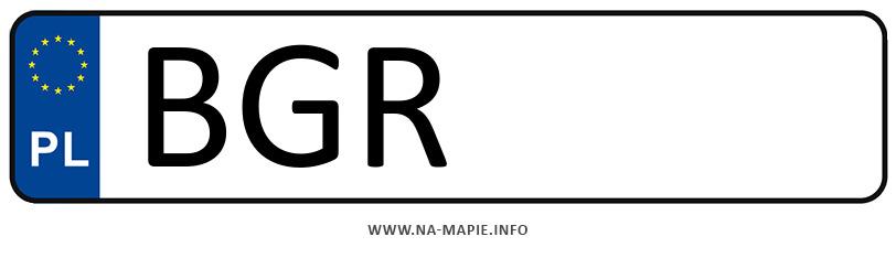 Rejestracja BGR, miasto Grajewo