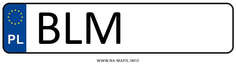Rejestracja BLM, miasto Łomża powiat