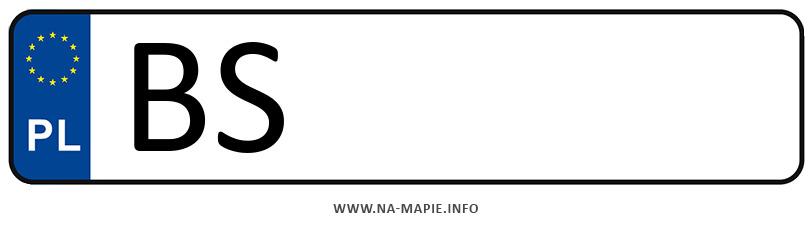 Rejestracja BS, miasto Suwałki