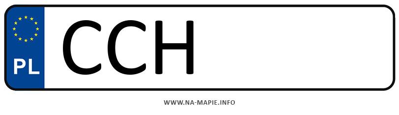Rejestracja CCH, miasto Chełmno