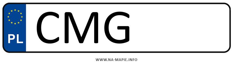 Rejestracja CMG, miasto Mogilno