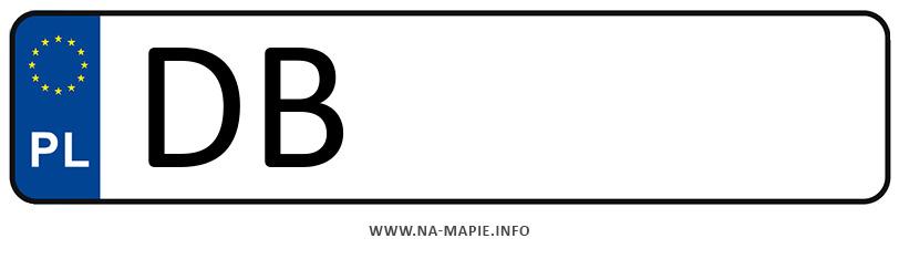 Rejestracja DB, miasto Wałbrzych