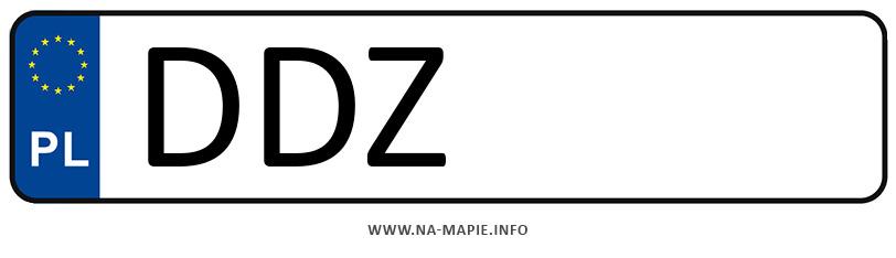 Rejestracja DDZ, miasto Dzierżoniów