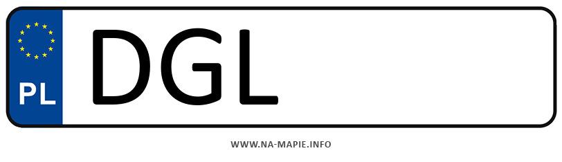 Rejestracja DGL, miasto Głogów