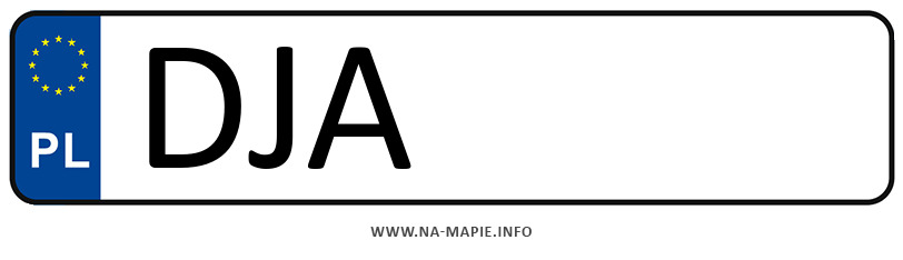 Rejestracja DJA, miasto Jawor
