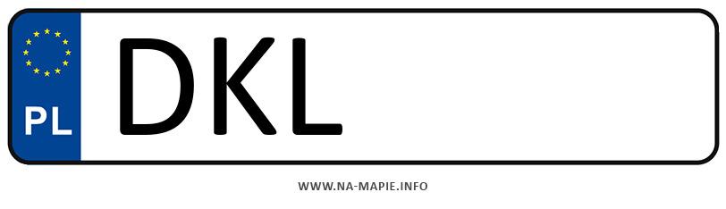 Rejestracja DKL, miasto Kłodzko