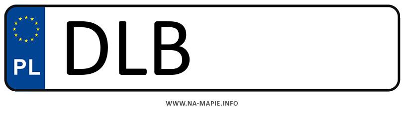 Rejestracja DLB, miasto Lubań