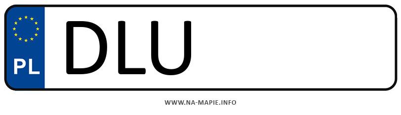 Rejestracja DLU, miasto Lubin