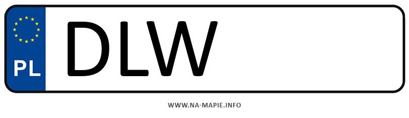 Rejestracja DLW, miasto Lwówek