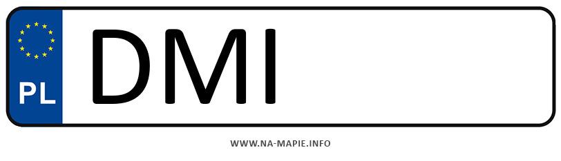 Rejestracja DMI, miasto Milicz