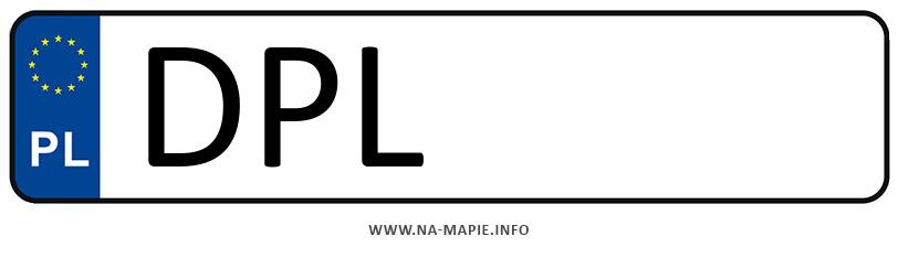Rejestracja DPL, miasto Polkowice