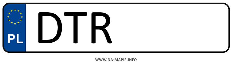 Rejestracja DTR, miasto Trzebnica