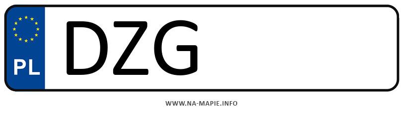 Rejestracja DZG, miasto Zgorzelec