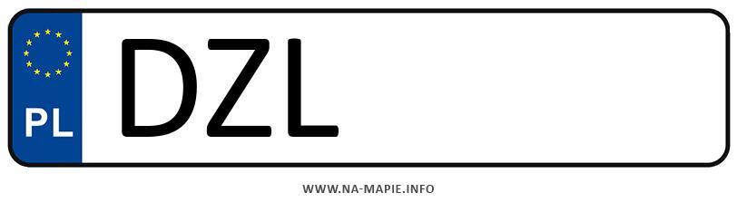 Rejestracja DZL, miasto Złotoryja