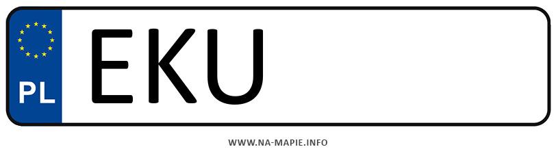 Rejestracja EKU, miasto Kutno