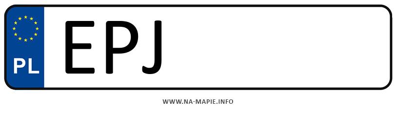 Rejestracja EPJ, miasto Pajęczno