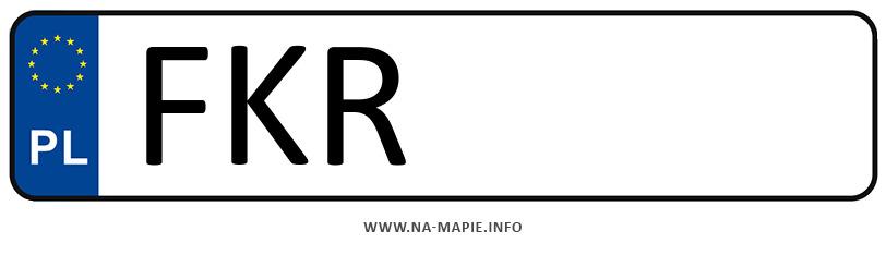 Rejestracja FKR, miasto Krosno Odrzańskie