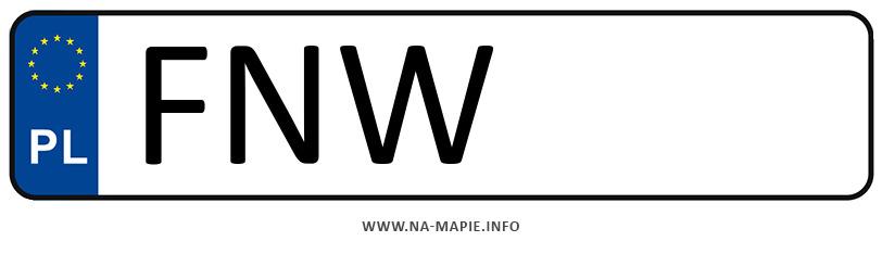 Rejestracja FNW, miasto Nowa Sól
