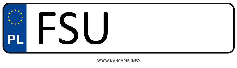 Rejestracja FSU, miasto Sulęczyn
