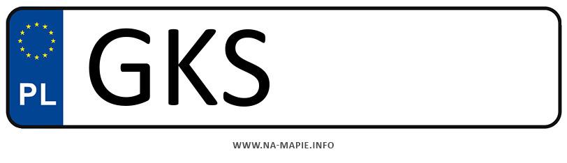 Rejestracja GKS, miasto Kościerzyna