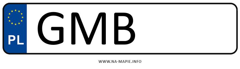 Rejestracja GMB, miasto Malbork