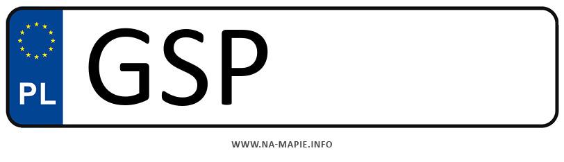Rejestracja GSP, miasto Sopot
