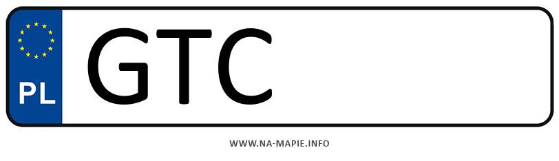 Rejestracja GTC, miasto Tczew