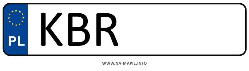 Rejestracja KBR, miasto Brzesko