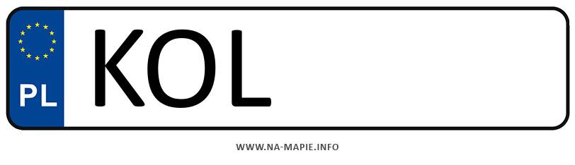 Rejestracja KOL, miasto Olkusz