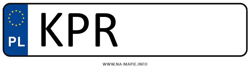Rejestracja KPR, miasto Proszowice