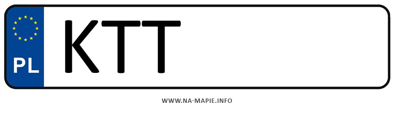 Rejestracja KTT, miasto Zakopane