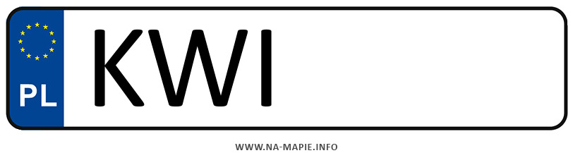 Rejestracja KWI, miasto Wieliczka