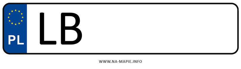 Rejestracja LB, miasto Biała Podlaska