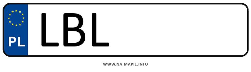 Rejestracja LBL, miasto Biłgoraj