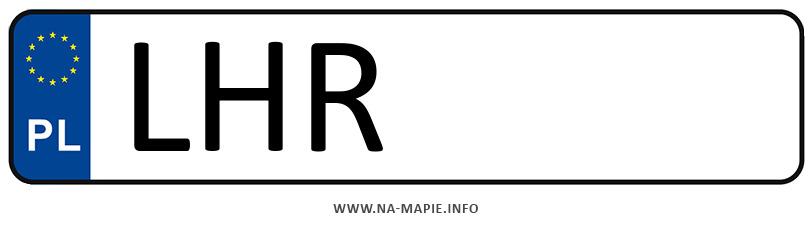 Rejestracja LHR, miasto Hrubieszów