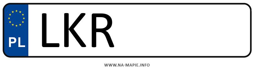Rejestracja LKR, miasto Kraśnik
