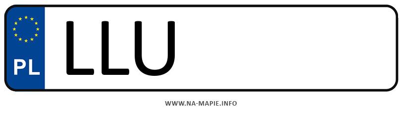 Rejestracja LLU, miasto Łuków
