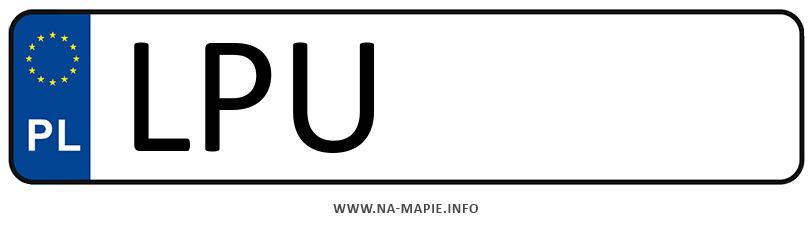 Rejestracja LPU, miasto Puławy