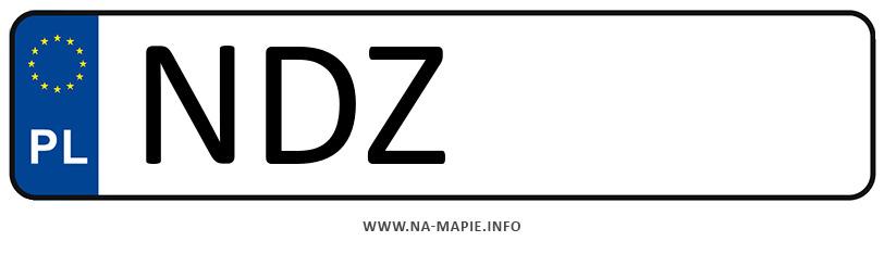 Rejestracja NDZ, miasto Działdowo