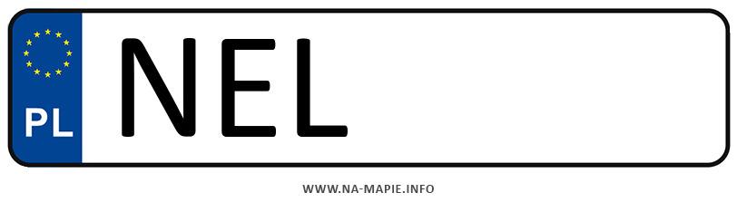 Rejestracja NEL, miasto Ełk