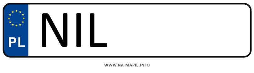 Rejestracja NIL, miasto Iława