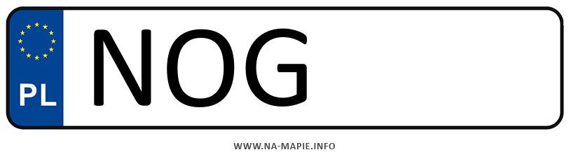 Rejestracja NOG, miasto Olecko