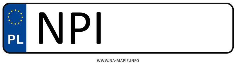 Rejestracja NPI, miasto Pisz