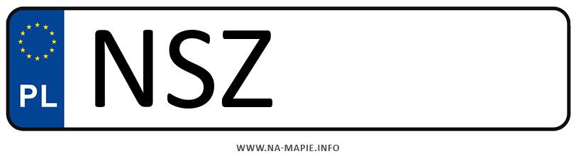 Rejestracja NSZ, miasto Szczytno