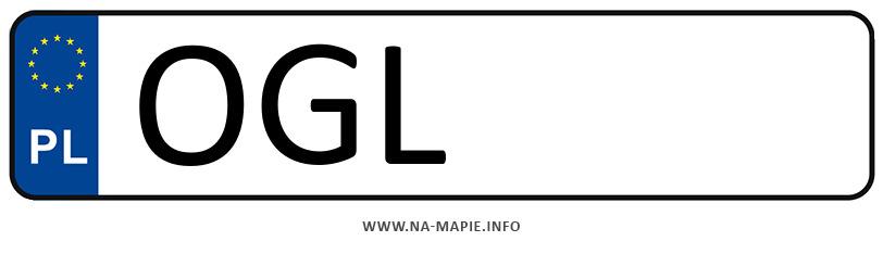 Rejestracja OGL, miasto Głubczyce