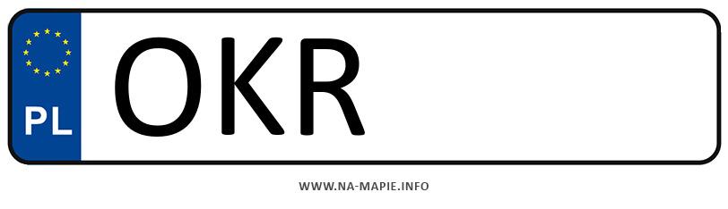 Rejestracja OKR, miasto Krapkowice