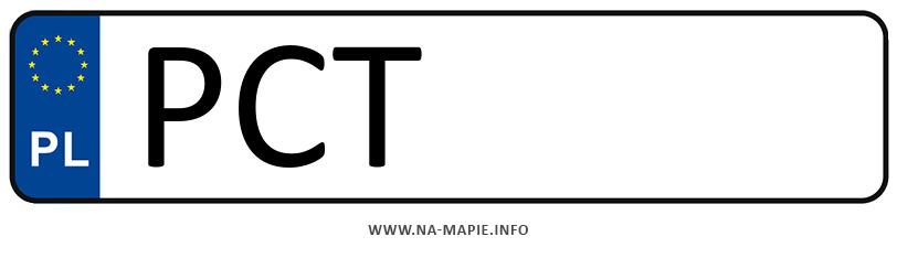 Rejestracja PCT, miasto Czarnków