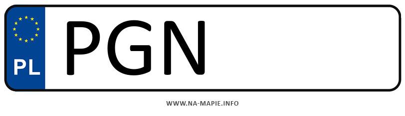 Rejestracja PGN, miasto Gniezno