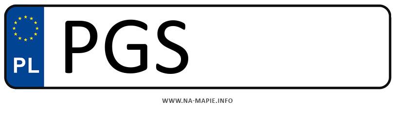 Rejestracja PGS, miasto Gostyń