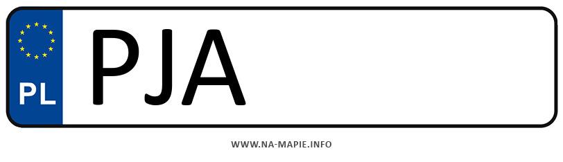 Rejestracja PJA, miasto Jarocin